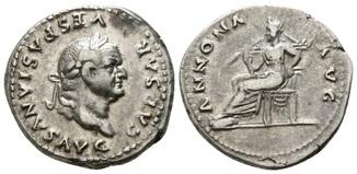 Веспасиан денарий RIC - II 964