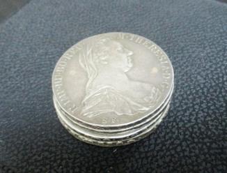 Серебряные талеры Марии Терезии