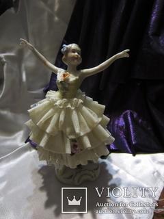 """194. Статуэтка Балерины Иветт Шовире """"Жизель"""", UnterWeisBach, Германия"""
