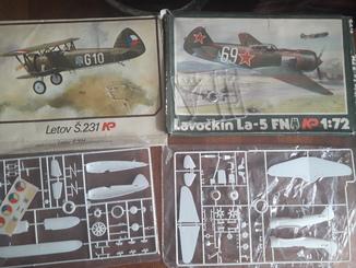 Сборные модели самолетов пр-ва СССР