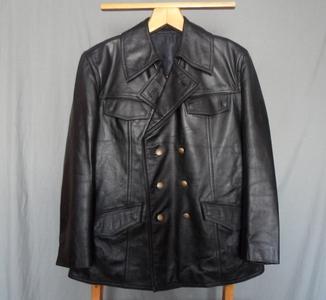 Куртка кожаная полиции Германии б/у р.52