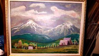 """Р.Ю.Сельский,""""На Черногорі ще сніг"""",1970 р."""