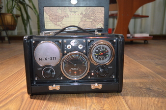 Spirit of St. Louis Air Station Radio Alarm Clock радио ретро дизайн
