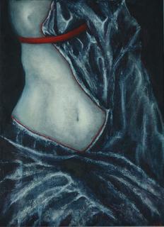 Venus in drapery. Масло, холст галерейной натяжки. 25*35см