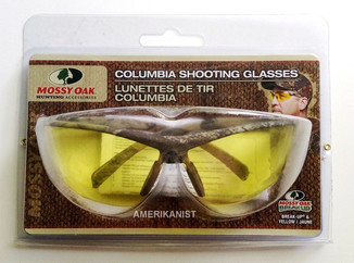 Очки для охоты Columbia MossyOak с желтыми линзами оригинал