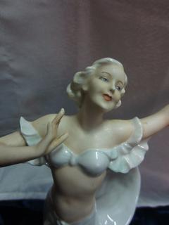 "Статуэтка ""Мэрилин Монро"", 22 см, 50-гг., SchauBachKunst (Валлендорф), Германия"