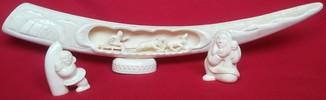 Комбинация фигур с клыка моржа