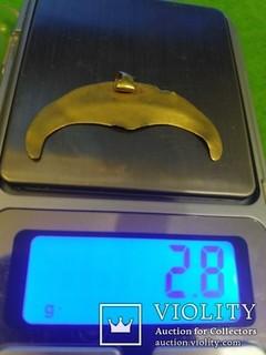 ЧК Лунница 2.8 гр Золото 900+