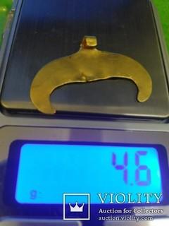 Лунница ЧК 4.6гр Золото 900+