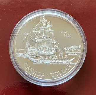 Canada 1 dollar 1999