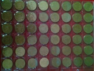 1 гривна 2001г (50шт)