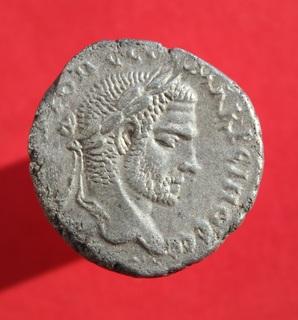 Тетрадрахма Macrinus (Laodikeia-ad Mare) (SGI 2953)