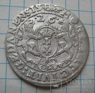 Орт 1626 года Гданьск Сигизмунд III Ваза