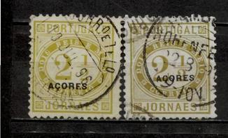 Азорські о-ви локал 1882 №37а + №37b повні серії
