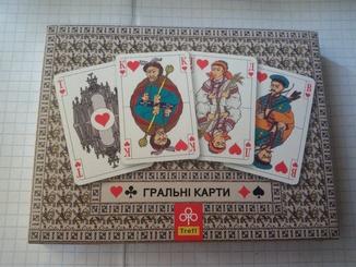 Карты игральные сувенирные  (набор 2× 55)