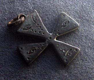 Крест Згард? с глазковым орнаментом, Лот 4778