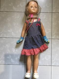 Кукла паричковая на резинках  ссср