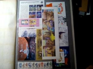 СССР 1989  MNH  Полный годовой+6 малых листов