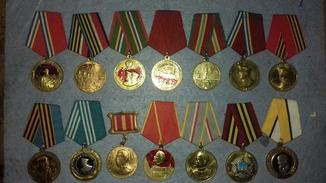 14 різних медалів Росія (лот 6)