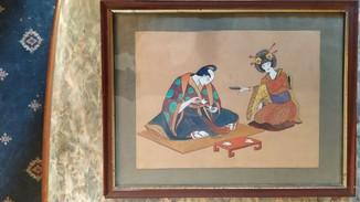 Рисунок в японском стиле,нач. ХХ века