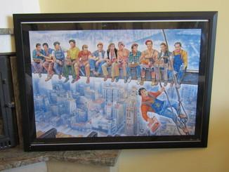 Плакат Art Poster Звезды на вершине (1995) величайшие культовые герои кино