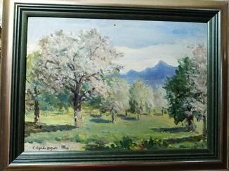 """С.Криворучко, """"Травень в саду"""", 1958"""