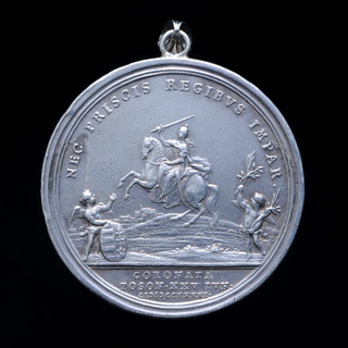 Медаль Коронация Марии Терезии на Венгерский Престол в Прессбурге, Австрийская Империя