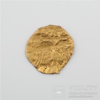 Золотая чешуйка - 1/4 угорского  Алексея Михайловича