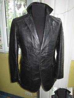 Кожаная мужская куртка - пиджак. Германия. Лот 628