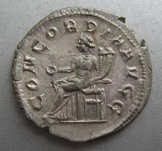 Антониниан Отацилия Севера (246-248 год н.э.) CONCORDIA