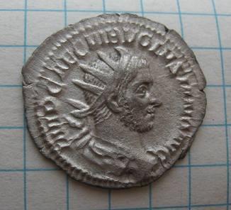 Антониниан Волузиана (251-253 год н.э.) SALVS