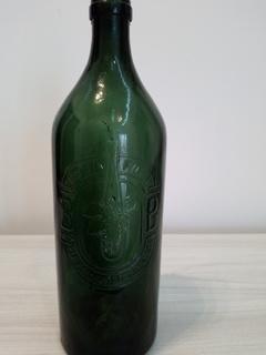 Винная бутылка 1 кварта Австро-Венгрия 1871год