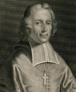 Старинная гравюра. Священник