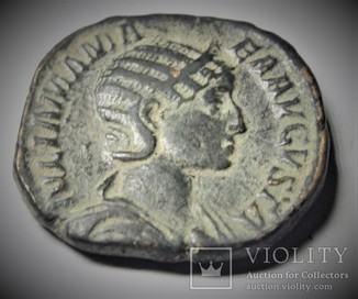Монета Римская Империя Рим Юлия Мамея