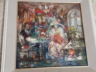Картина Одесского художника  А Швец