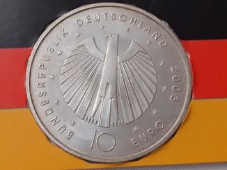 Монета fifa fussball weltmeisterschaft 10 euro 2006