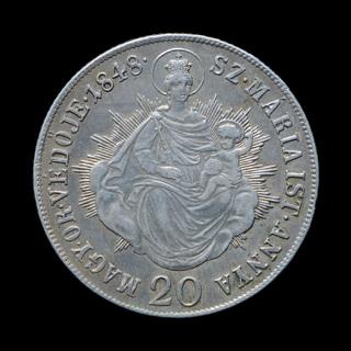 20 Крейцеров 1848 КВ  Австрия