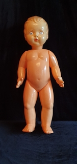 Пупс Целлулоид, клеймо. 63 см (Bobblehead Celluloid, brand. 63 cm)