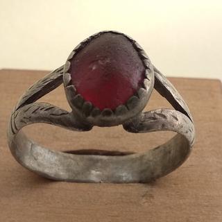 Перстень (кольцо) серебро без пробы