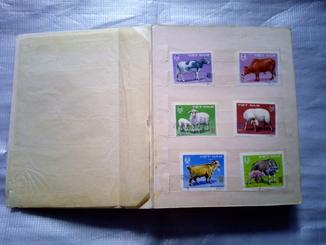 Коллекция марок СССР,Нигерии,Болгарии,Кубы(195шт)