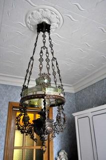Паникадило - подвесная керосиновая лампа.