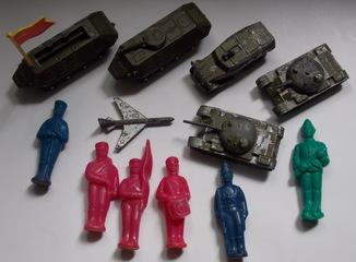 Военная техника и солдатики, СССР