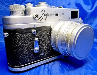 Фотоаппарат  Зоркий-4,объект. Юпитер-8  1963г