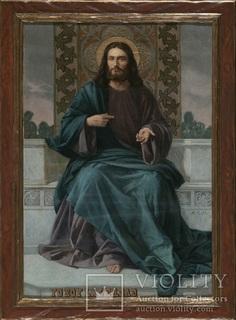 Святейшее Сердце Иисуса. 1899 год. (127 х 83,5 см)
