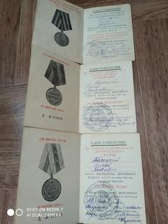 Три удостоверение на одного. Германия, Будапешт, Вена.
