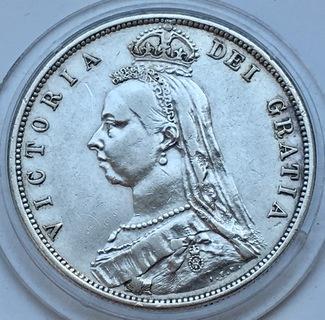 Пів крони 1887 Великобританія