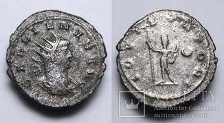 Імператор Галлієн, антонініан, м.Антиохія, 263р. - IOVI STATORI