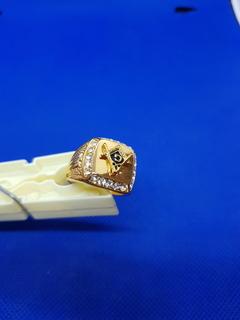 Перстень с масонской символикой 1