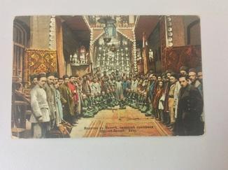 Молитва в мечети Баку(ателье Гринберг в Стокгольме)