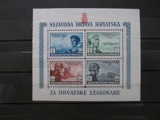 3-й Рейх Германия, Хорватия, блок легион без клея